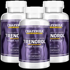 3 garrafas de Trenorol
