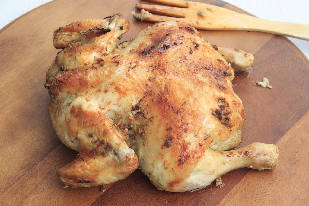 Proteínas de frango