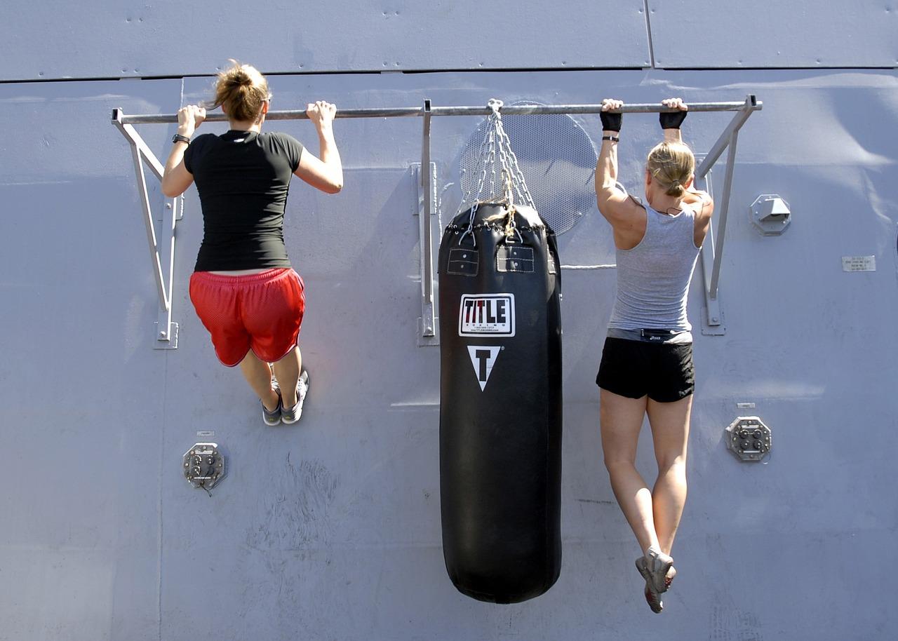 Que músculos trabalham com tracção?
